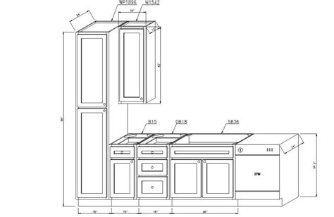 Helpful Kitchen Cabinet Dimensions Standard For Daily Use Kitchen Cabinet Size