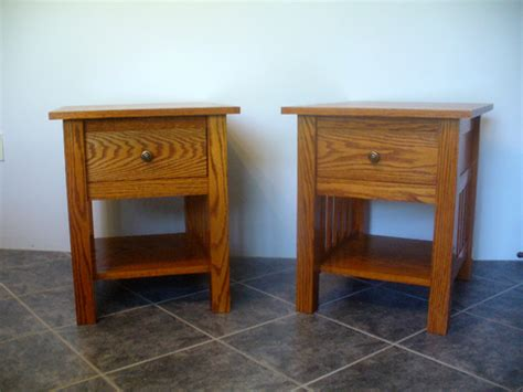 craftsman style end tables craftsman style end tables done ravenview