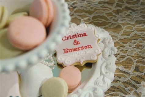 Standing Pouch Cookies Klip Motif Happly M hearts and cookies rustic bridal shower bridal shower ideas themes