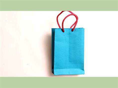 Make Paper Bag - como fazer uma sacola de papel 13 passos imagens