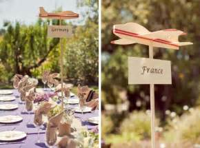 Colorado Blinds Travel Themed Wedding Ideas