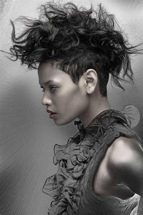 short punk haircuts for curly hair 25 punk hairstyles for curly hair hairstyles haircuts