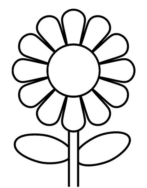 sunflower coloring pages preschool beautiful sunflower coloring page flower coloring pages