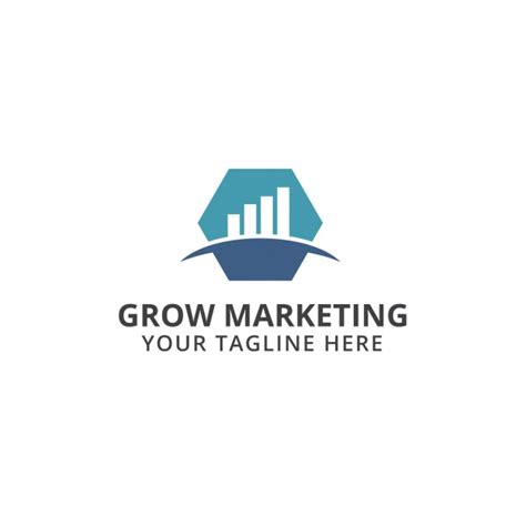 grow marketing grow marketing logo vector free download