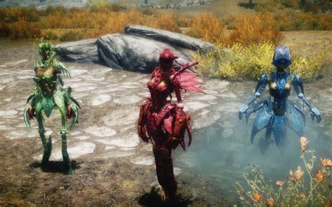 skyrim spriggan armor mod three sisters droid at skyrim nexus mods and community