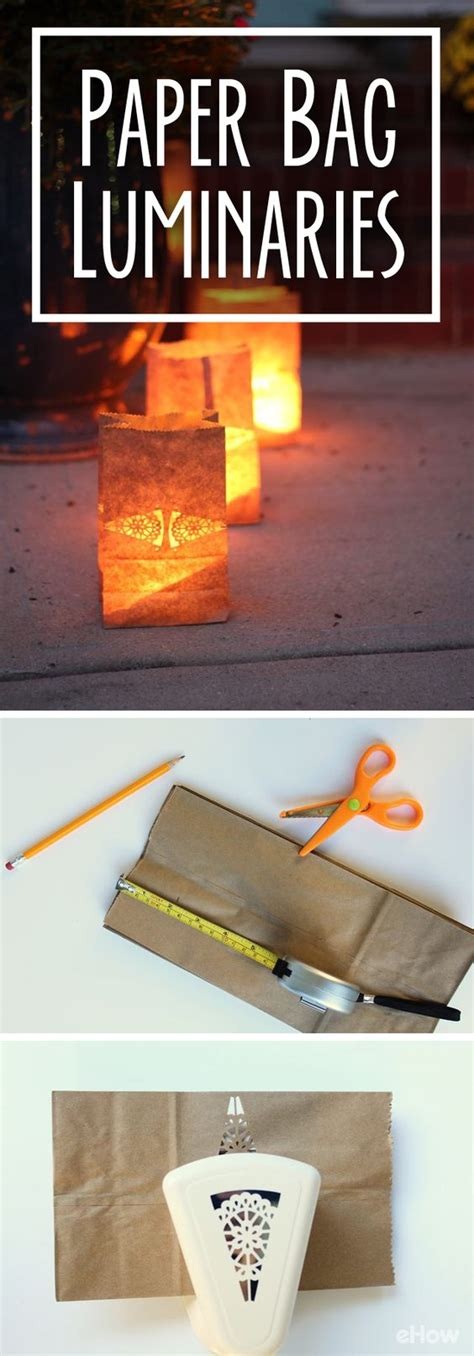 How To Make Beautiful Paper Bags - how to create safe paper bag luminaries beautiful bags