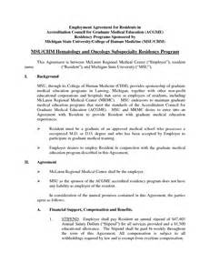 Labor Agreement Template Doc 12751650 Sample Employment Agreement Template