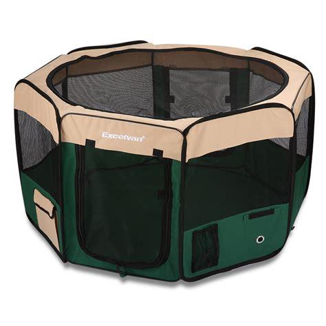 Pet Cargo Kadang Portable 8 panels portable puppy pet cat tent playpen crate cage exercise enclosure ebay