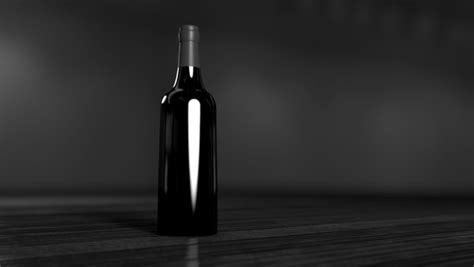black and white chagne bottle alcohol bar beach beverage black and white bottle free