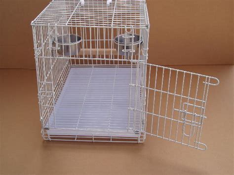 large parrot bird travel carrier foldable cage 9204