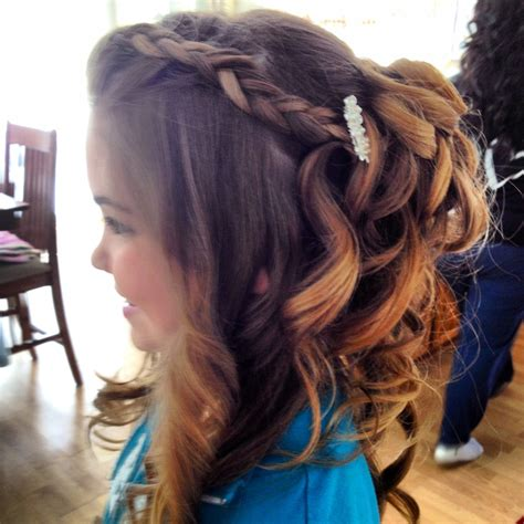 cute hairstyles for junior bridesmaids junior bridesmaid hairstyles on pinterest junior brides