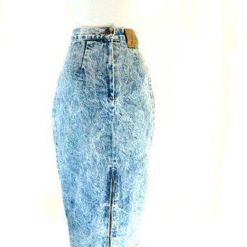 best acid wash jean skirt products on wanelo