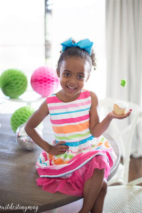 celebrate colorful summer birthday party ideas  destiny