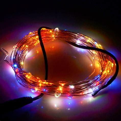 12v string lights 10m 12v 6w 500lm smd 0603 led silver wire string light festival l decoration light