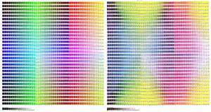 photoshop color codes photoshop color codes chart images