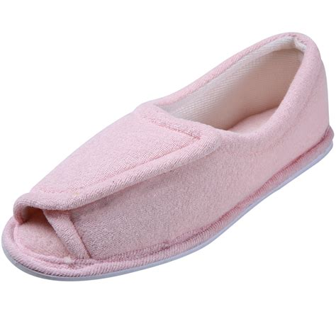 terry towel slippers clinic comfort terry cloth slippers pink