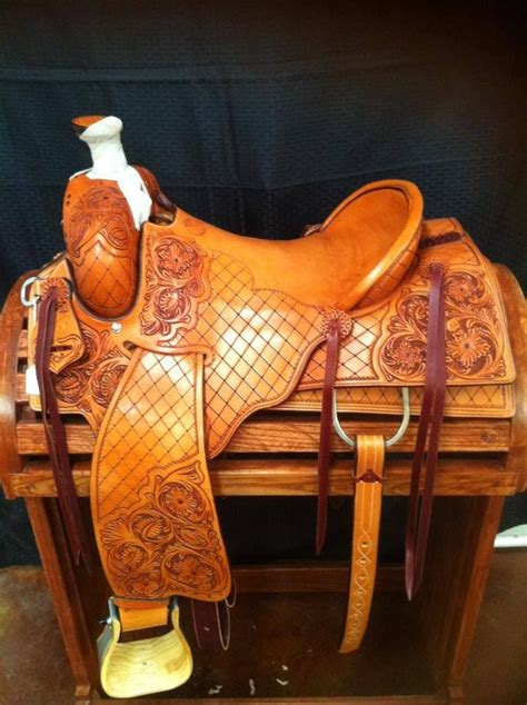 Handmade Western Saddles - ross bullinger handmade saddle handmade saddles
