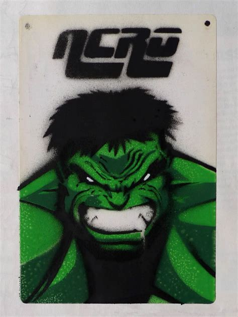 incredible hulk stencil  work pinterest incredible
