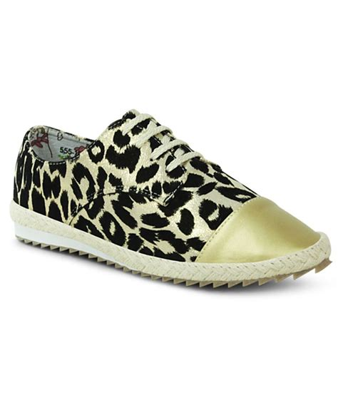 comfortable gold shoes get glamr gold comfortable casual shoes price in india