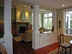 Dining Room And Kitchen Partition Living Room Dining Room Divider Cabinetry W Storage