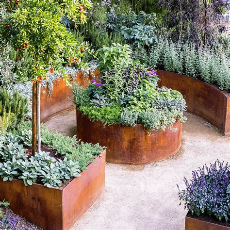 Raised Garden Bed Designs Sunset Raised Garden Bed Planting Ideas