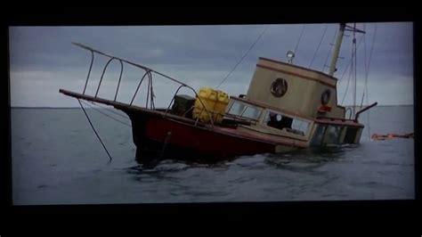 jaws sunken boat orca disaster jaws recut kleverstudios youtube