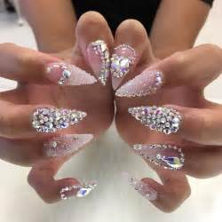 25 best ideas about rhinestone nails on pinterest