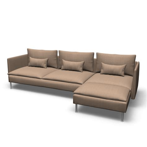 lounge sofas s 214 derhamn sofa and chaise lounge design and decorate your room in 3d