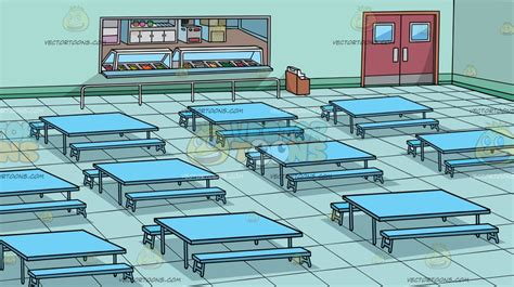 cafeteria clipart a school cafeteria background clipart by vector