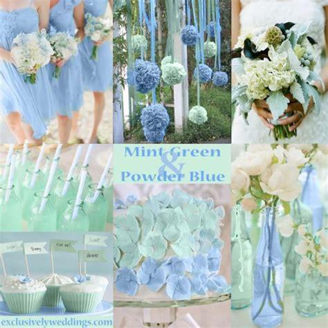 Pastel Wedding Colors   Seven Dreamy Combinations   Mint