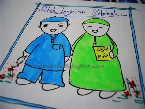 foto animasi islam lucu terbaru display picture lucu