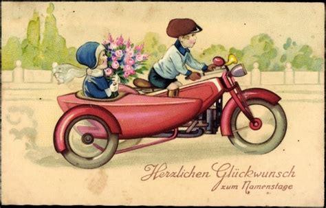 Motorrad Sms Spr Che by Gl 252 Ckw 252 Nsche Geburtstag Motorrad Gl252ckwunschkarten