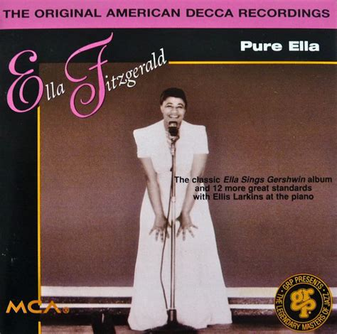 Leave Me Breathless Baby Day 94 by Ella Fitzgerald Ella Cd At Discogs