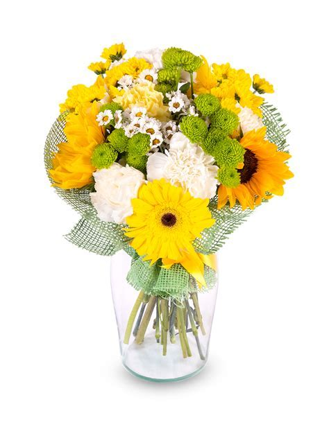 Flower Bouquet SUNFLOWER Frutiko.cz