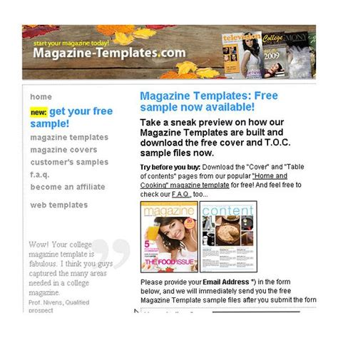 Use 10 Free Magazine Cover Templates To Save Time Microsoft Publisher Magazine Cover Template