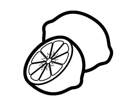 color lemons with food coloring coloring pages