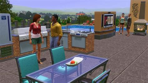 Backyard Stuff The Sims 3 Outdoor Living Ea