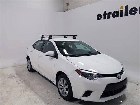 2014 Toyota Corolla Roof Rack by Thule Roof Rack For Toyota Corolla 2014 Etrailer