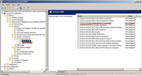 disable windows firewall  group policy