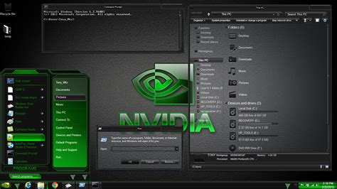new themes for windows 8 1 2015 windows 8 1 theme nvidia by newthemes on deviantart