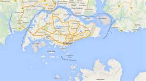 satellite map of singapore pin flag philippines 3 image vector clip