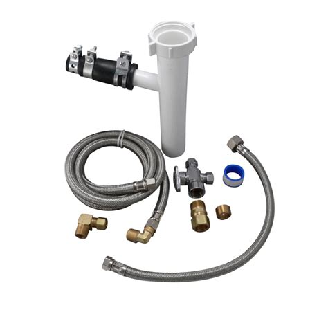 Plumbing For Dishwasher Installation by Shop Keeney Mfg Co Dishwasher Installation Kit For 1 1 2