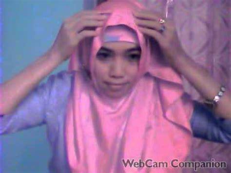 tutorial hijab sederhana untuk wajah bulat tutorial hijab untuk muka bulat pipi tembem youtube
