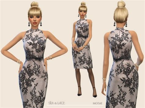 lace shirt the sims 4 silk lace the sims 4 download simsdom