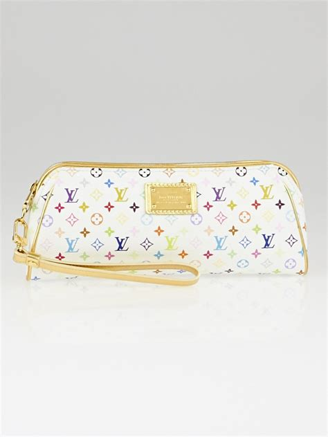 Chanel Kate Bosworth And Chanel Clutch Evening Bag by Louis Vuitton White Mini Monogram Multicolore Kate Clutch