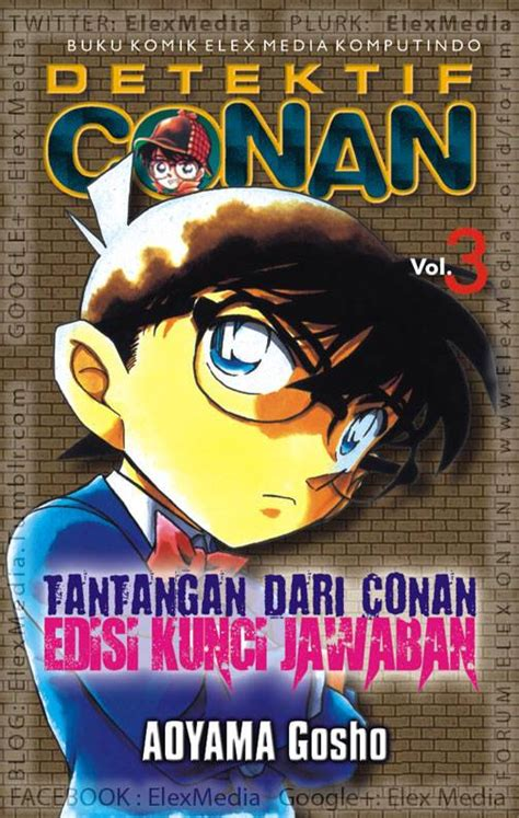 Detektif Conan Vol 1 Edisi Kasus detektif conan tantangan dari conan edogawa