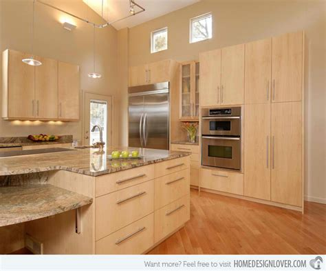 Modern Wood Kitchen Cabinets 15 Contemporary Wooden Kitchen Cabinets