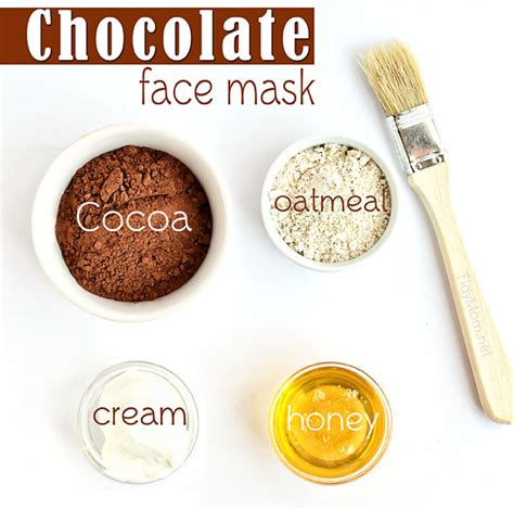 diy cocoa mask chocolate oatmeal mask healthy series part