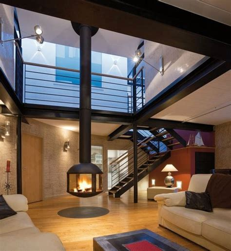 Free Interior Design Ideas For Living Rooms - hanging stove modern luxury fireplaces interior design ideas avso org