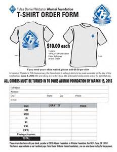 T Shirt Order Form Template by Pin Tshirt Order Form T Shirt Template On